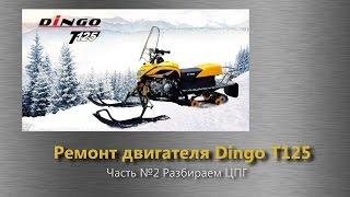 Dingo 125 ремонт двигуна. Частина 2. Розбираємо ЦПГ