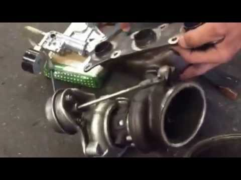 BMW N54 335 535 turbo waste gate 30ff fault test