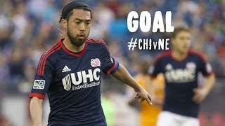 PK GOAL: Lee Nguyen buries the penalty kick | Chicago Fire vs. New England Revolution