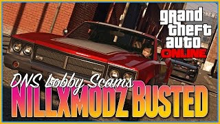 Gta 5 Online - DNS Scam Nillxmodz Busted, Legal Proceedings, Hacking, DNS Codes, Modded Lobbies