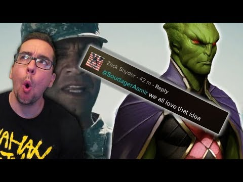 Zack Snyder Supports the General Swanwick/Martian Manhunter Fan Theory