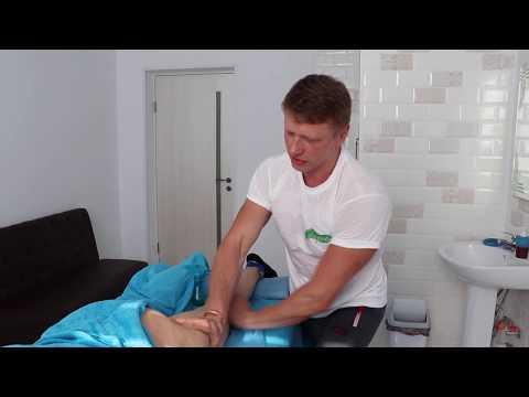 Лимфодренажный массаж. Уникальная техника предплечьем. lymphatic drainage massage.