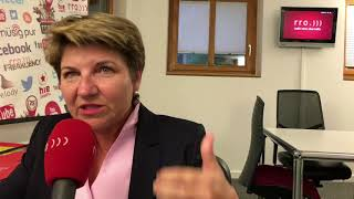 Viola Amherd als mögliche Bundesratskandidatin? Das grosse rro-Interview.