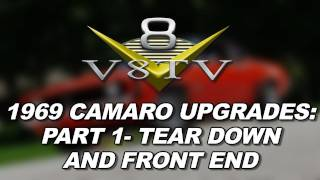 1969 Camaro SS396 Upgrade Videos: Edelbrock Top End Kit, MagnaFlow Exhaust, Suspension pt. 1 V8TV