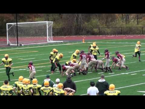 JD Antaya #39 Highlights 8th Grade Nipmuc Warriors Football vs CD 2015 Playoffs
