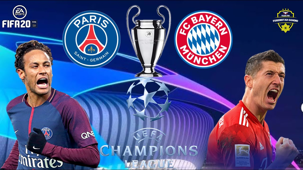 Psg Vs Bayern Munich Paris Saint Germain Vs Bayern Munich Champions League Final Fifa Gameplay Youtube