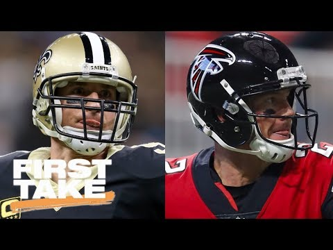 First Take makes predictions for Saints-Falcons game   First Take   ESPN