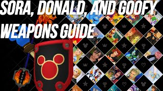 Kingdom Hearts 1.5 HD - Kingdom Hearts Final Mix - Keyblade, Shield, and Staff Guide
