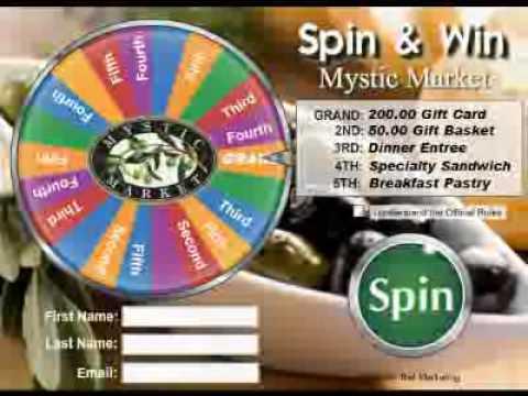 Prize Wheel Software