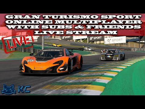 Gran Turismo Sport (PS4) 🚗 Sport Mode & Online Multiplayer With Subs (Live Stream🔴 19/7/2019)