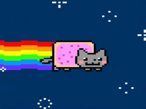 how to draw nyan cat video