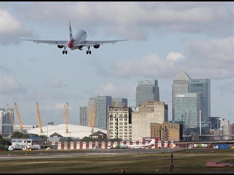 LCY 1990.  LWT's 'The London Programme'. 'Happy Landings'