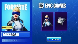 FORTNITE REGALA 1 SKIN AND 1 ALA DELTA FREE!