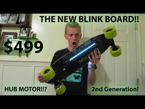 ACTON BLINK BOARD HUB MOTOR REVIEW! (THE 2ND GENERATION)