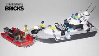Lego City 60129 Police Patrol Boat Speed Build