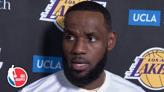 LeBron addresses Daryl Morey's tweet and Lakers' trip to China | NBA on ESPN
