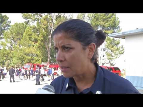 Aspiring women firefighters feel the burn