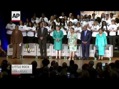 Ceremony Marks 60th Anniversary of Little Rock 9