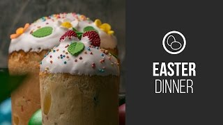 Kulich Traditional Orthodox Easter Cake || Around The World: Easter Dinner || Gastrolab