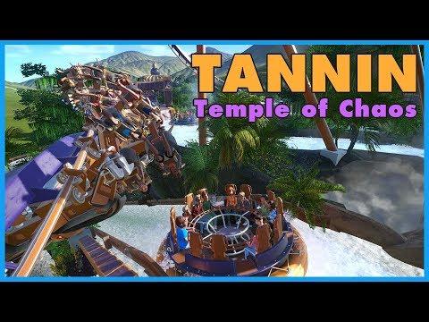 TANNIN: The Temple of Chaos! Coaster Spotlight 372 #PlanetCoaster