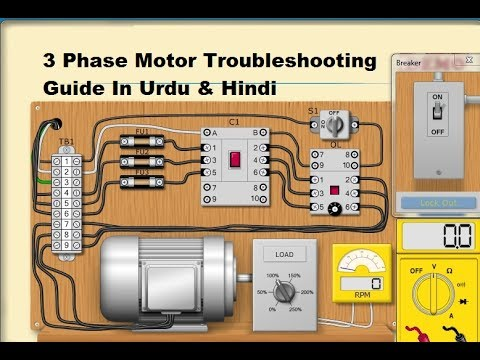 3 phase electric motor troubleshooting guide in urdu