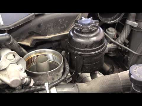 BMW E46 Engine Oil and Filter Change