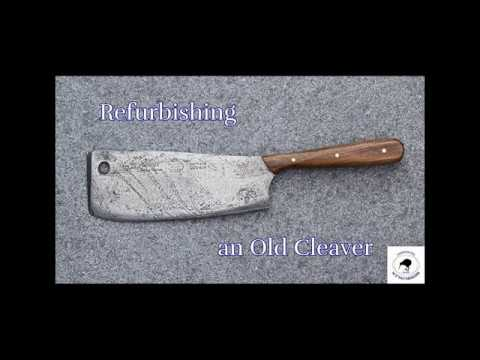 Restoring an Old English Cleaver Pt 4