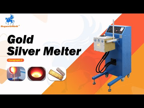 10kg induction silver, gold smelting kit equipment supplies - SuperbMelt