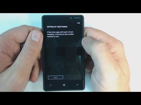 Nokia Lumia 820 - How to remove security lock by hard reset