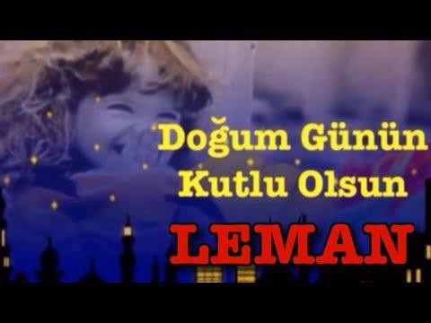 LEMAN İyi ki Doğdun :)  3. VERSİYON, KOMİK DOĞUM GÜNÜ VİDEOSU Made in Turkey :) 🎂 *ABİDİN KUKLA*