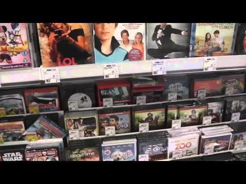 Asda DVD & Games Section
