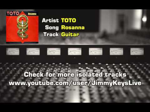 TOTO - Rosanna Isolated Guitar Track (Steve Lukather)