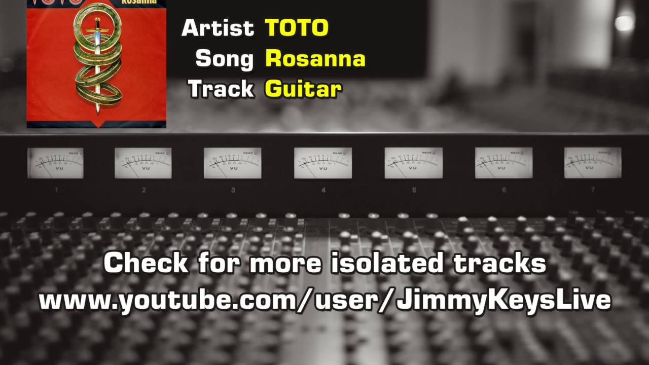 Toto's Isolated Guitar, Bass, Drums, Keyboard And Horn Track