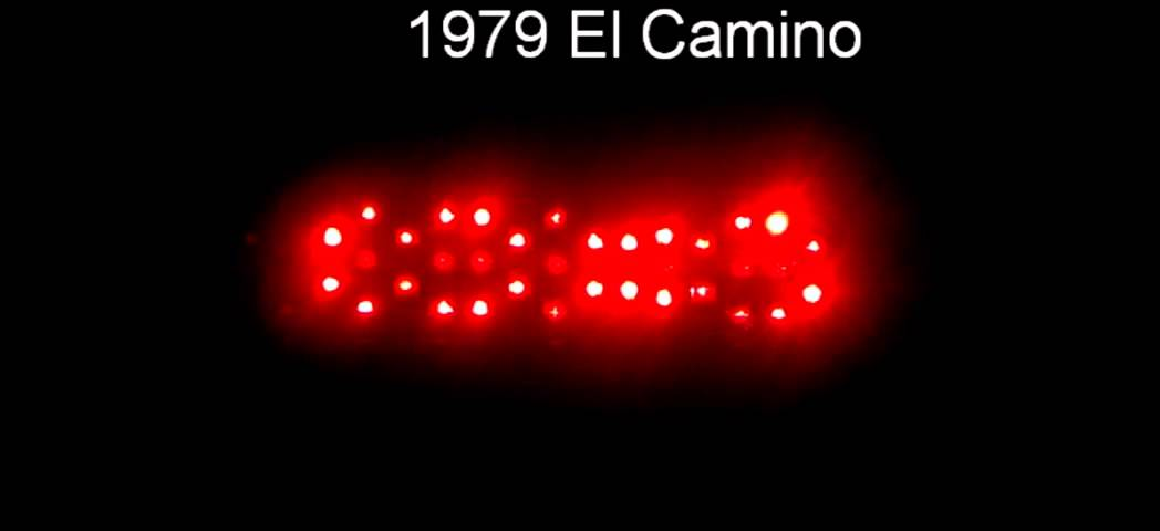 1978 1987 El Camino Led Sequential Tail Lights By Easy - 1980 El Camino Led Tail Lights