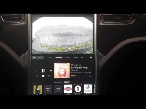 Tesla Software v8.0 - Media Player Initial Impressions