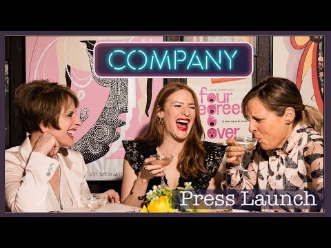 Interviews with the cast of Stephen Sondheim's Musical COMPANY