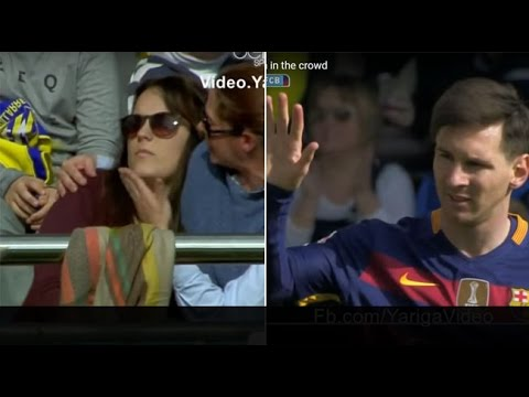 Messi's shot broke the hand of a lady in Villarreal - Barcelona 2-2