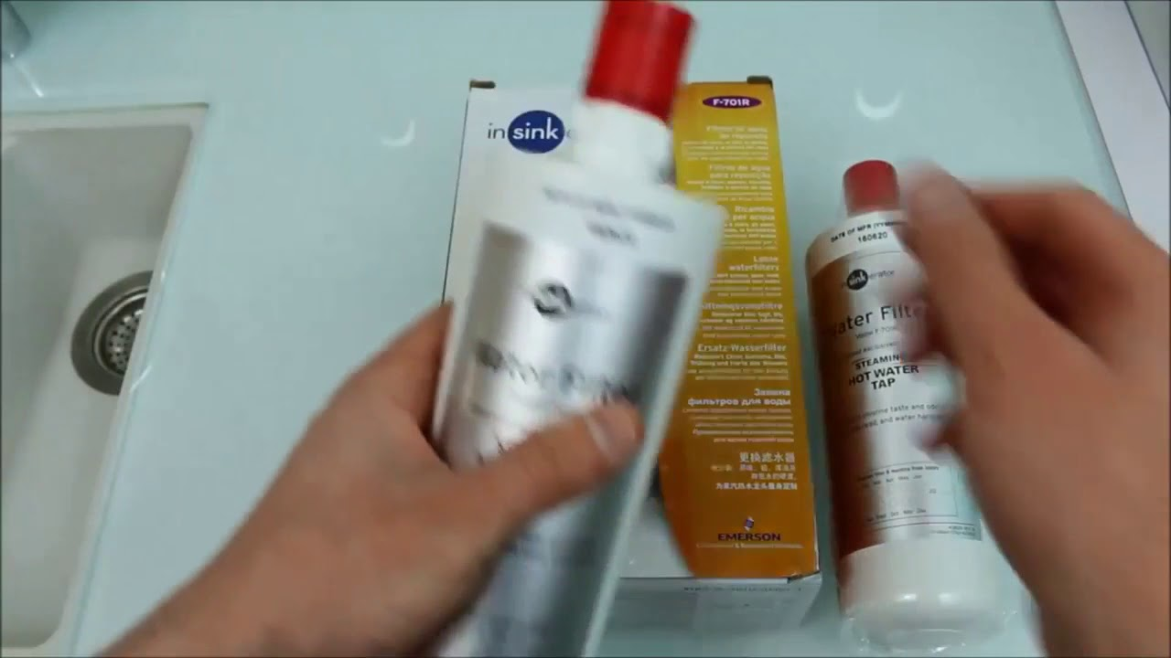 How to change your InSinkErator water filter - New Zealand
