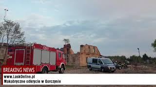 Makabryczne odkrycie w Gorczynie