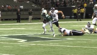 Tulane Football vs Rice Highlights, 11/3/2012