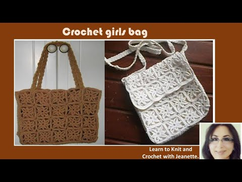 Crochet Bag Tutorial Youtube