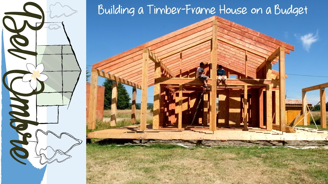 Two Diy Ers Building A Timber Frame Kit