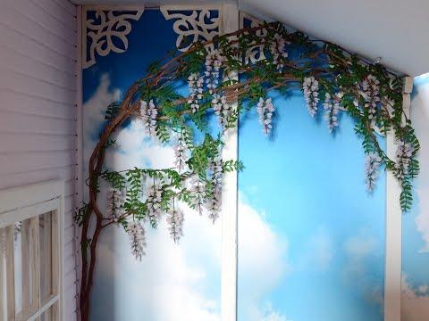How to make miniature glycinia (wisteria)