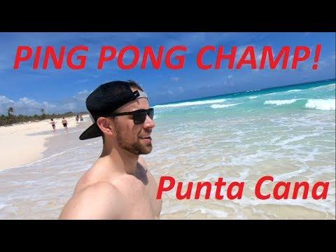 International Ping Pong Champion - Punta Cana Vlog