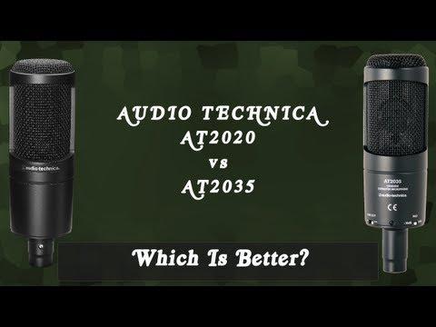 [Unboxing + Comparison] Audio Technica AT2035 vs. AT2020