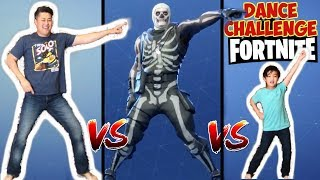 Fortnite Dance Challenge for kids in Real Life VS Fortnite Dance Off All New Dances