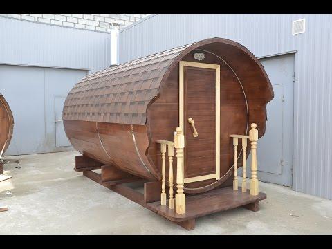 Баня Бочка 3.5 м Wood 3500 Стандарт от Миасских Саун