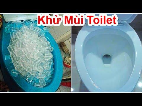 Cách Khử Sạch Mùi Hôi Toilet Đơn Giản / Mẹo Khử Mùi Hôi Bồn Cầu Hiệu Quả Nhất .deodorize the toilet