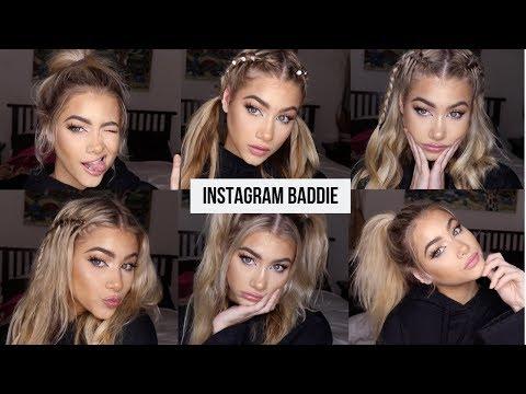 Easy Instagram Baddie Hairstyles Youtube