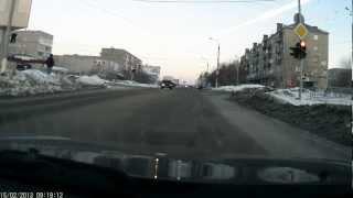 Новое видео падения метеорита в Челябинске Meteorite Fall